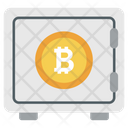 Savings Bitcoin Bitcoin Locker Bitcoin Security Icon