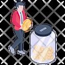 Savings Jar Icon