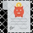 Savings Plan Emergency Icon