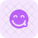 Savoring Smiling Eyes Icon