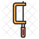 Chain Saw Hand Saw Construction Icon