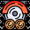 Saw Circular Saw Cutting Icon