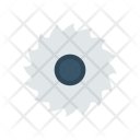 Saw Blade Cut Icon