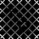 Axe Saw Cut Icon