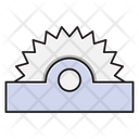 Saw Blade Cutter Icon