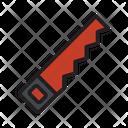 Construction Equipment Saw Icon