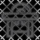 Saw Machine Circular Saw Table Saw Icon