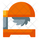 Saw Machine Process Industry Icon