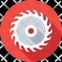Saw Machine Circular Icon