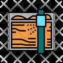 Sawmill Machine Color Icon