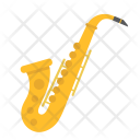 Saxophone Jazz Melody Icon