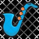 Saxophone Musical Instrument Tuba Icon