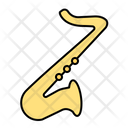 Saxophone Instrument Music Icon
