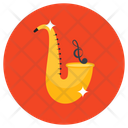 Saxophone Musical Instrument Trombone Icon