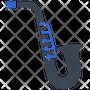 Saxophone Jazz Musician Icon