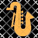 Saxophone Music Instrument Icon