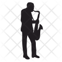 Saxophone Man Music Icon