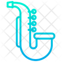 Jazz Music Instrument Icon