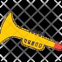 Saxophone Trumpet Trombone Icon