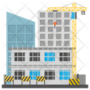 Scaffolding Building Repair Commercial Construction Icon