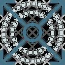 Database Geometric Design Pattern Icon
