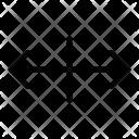 Scale Horizontal Arrow Icon