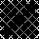 Scale Diagonal Right Icon