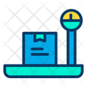 Package Checking Parcel Checking Weight Checking Icon