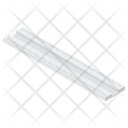 Scale Ruler Stationery Tool Icon