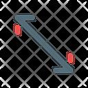 Scale Zoom Corner Icon
