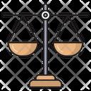 Scale Measure Law Icon