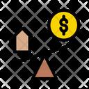 Scale Dollar Money Icon