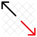 Scale Corner Arrows Icon