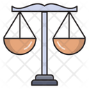 Scale Justice Bank Icon