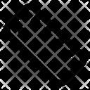 Scale Ruler Geometric Tool Icon