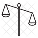 Scale Justice Judgment Icon
