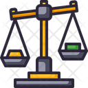 Scale Balance Law Icon