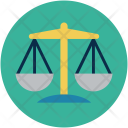 Scale Weight Law Icon