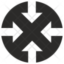 Scale Size Reduction Icon