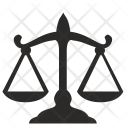 Balance Court Justice Icon
