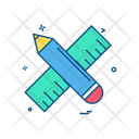 Scale Pencil Stationary Icon