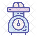 Kitchen Food Scale Icon