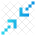 Minimize Screen Arrow Icon