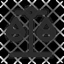 Scale Balance Balance Law Icon
