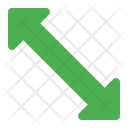 Scale Up Arrow Icon