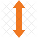 Scale Vertically Icon