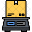Scales Box Delivery Icon