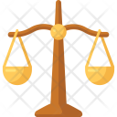 Scales Law Security Icon