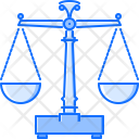 Scales Law Police Icon