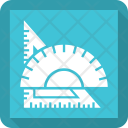 Ruler Scale Triangle Icon